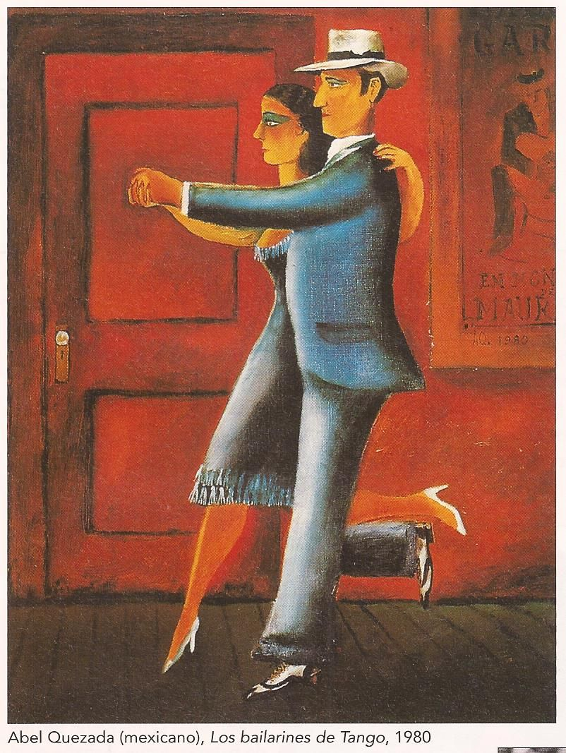 Los bailarines de tango (Abel Quezada)