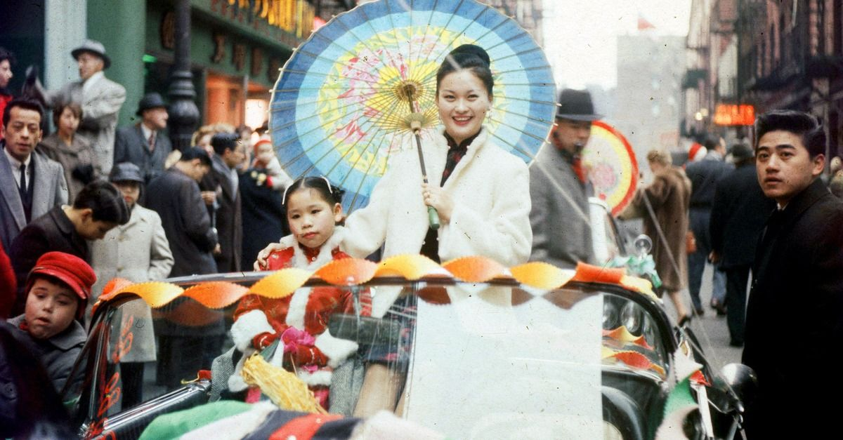 1960 New Yorkers celebrate the Year of the Rat in
