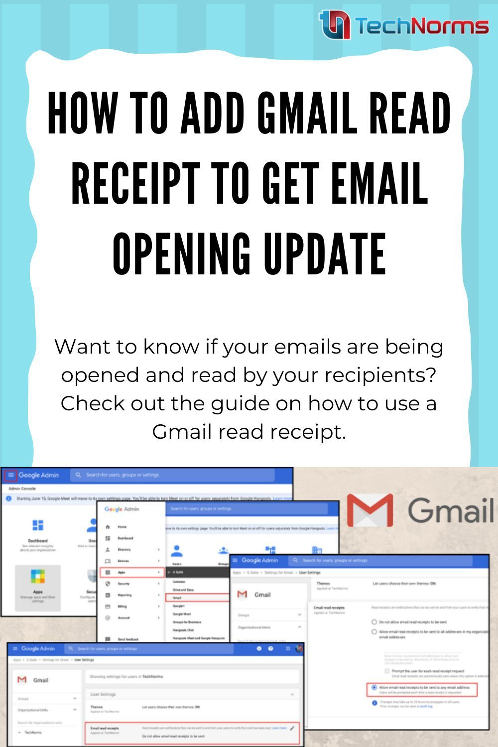 How To Add Gmail Read Receipt To Get Email Opening Update Reading Gmail Email Reading