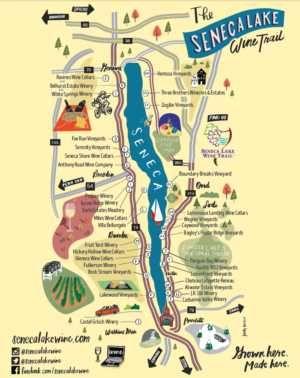 Wine Trail Maps – Seneca Lake Wine Trail   Visit the Finger ...