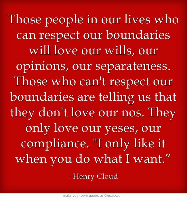 Boundaries: Dr Henry Cloud | I Prose & Poetry I | Pinterest