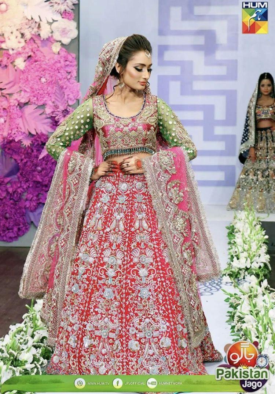 Wedding dress from jago Pakistan jagos wedding weekend show ...