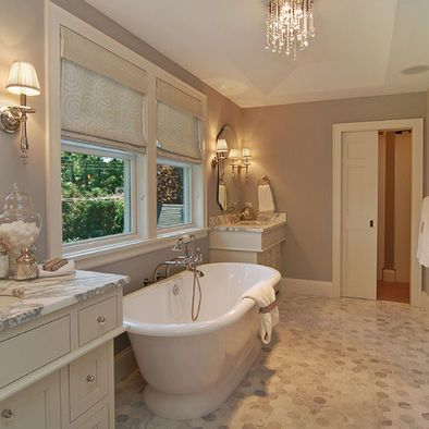 gray and white bathroom design ideas, pictures, remodel