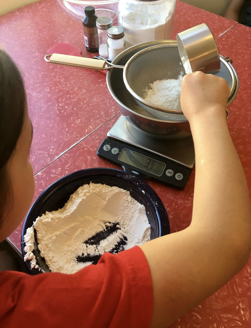 Baking lesson - Angel Food cake