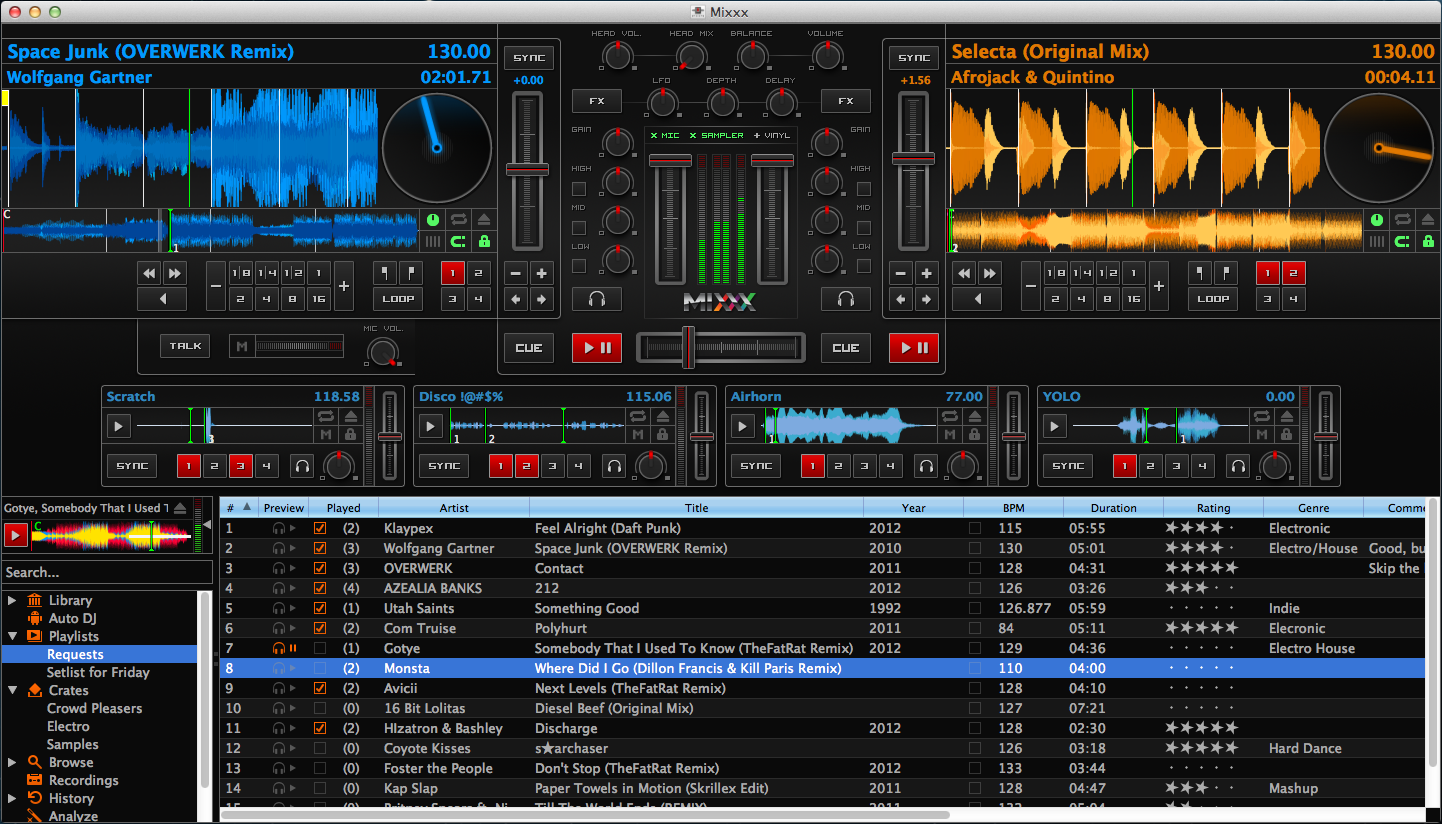 Top 10 Best Free DJ Software in 2018 Mixing and