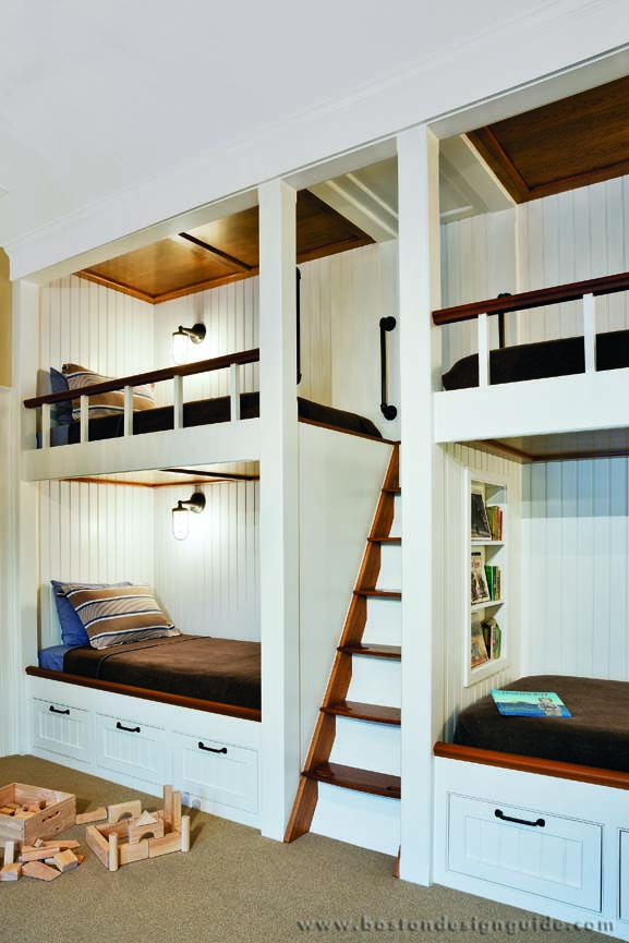 Nautical Inspirations Boston Design Guide Bunk Beds Built In