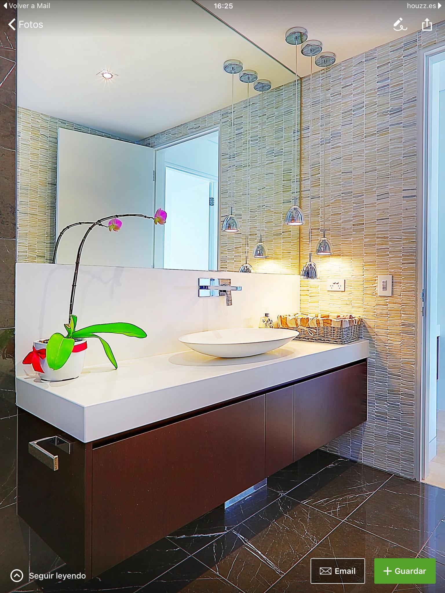 Pin de Monica O en Baños | Decoracion baños, Interiores, Baños
