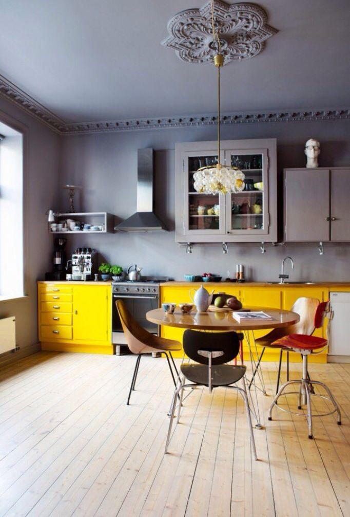 Kitchen Интерьер кухня Pinterest Cuisines, Cuisine orange et