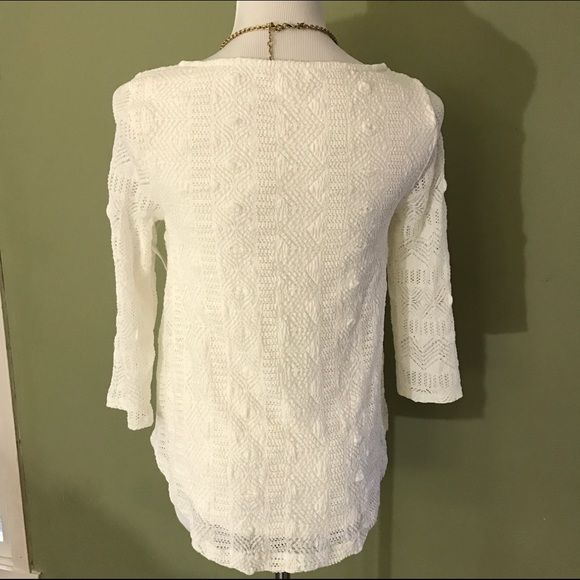 Anthropologie Tops - [Anthro] Lace Melange Top