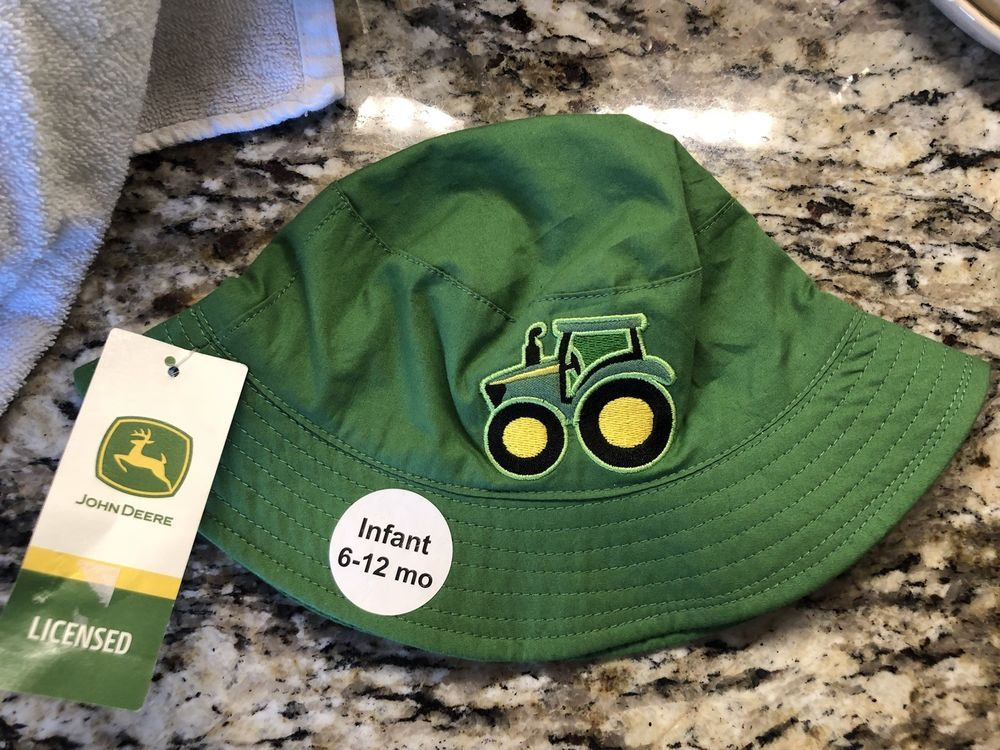 d3c51cd0f5423 John Deere Infants Bucket Hat New With Tag Licensed John Deere Product   fashion  clothing