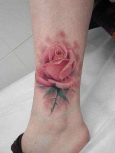 Orchid tattoo for vagina