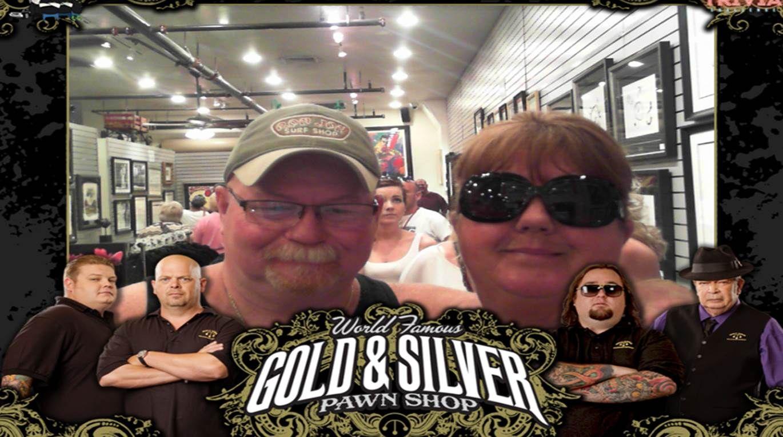 Us at Pawn Stars Las Vegas NV May 2015