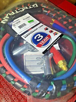 Tectran 13A1501 15' Color-Coded 3-In-1 Air Power Line  | eBay