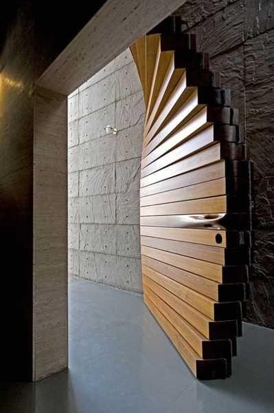 Unusual Folding Door Reinventing Interior Door Design Concept