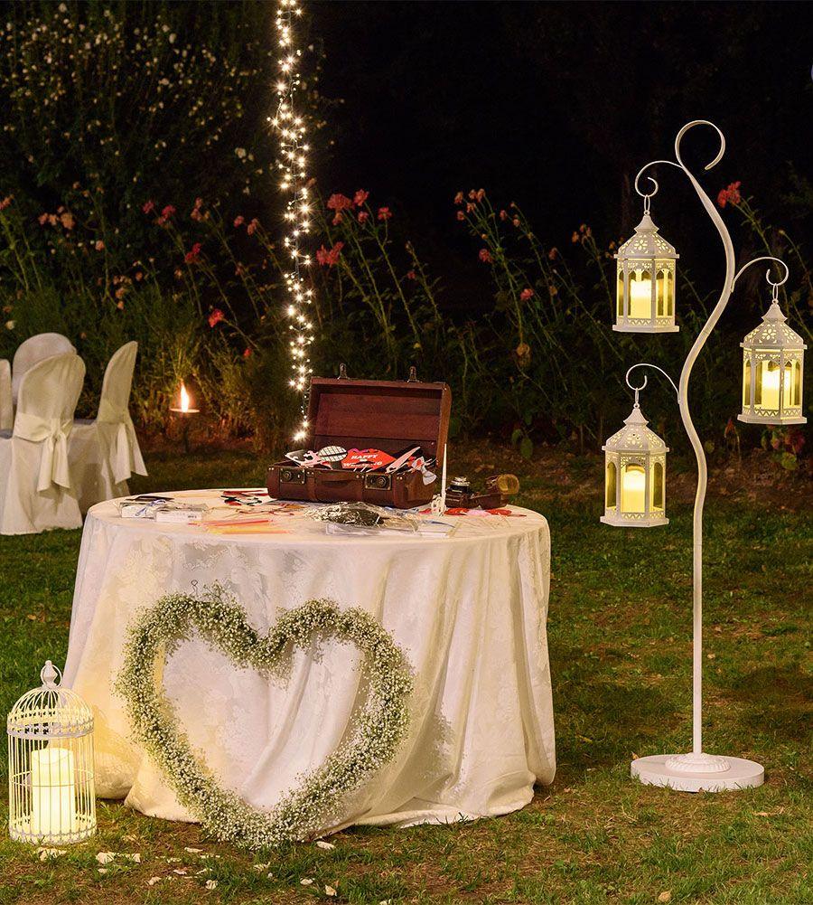 Auguri Matrimonio Vintage : Luci per matrimonio idee luminose per allestire la location in