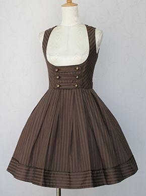 Victorian maiden ロイヤルストライプノーブルジャンパースカート
