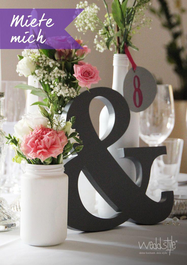 pin von hochzeitsdekoration auf buchstaben hochzeitsdeko pinterest. Black Bedroom Furniture Sets. Home Design Ideas