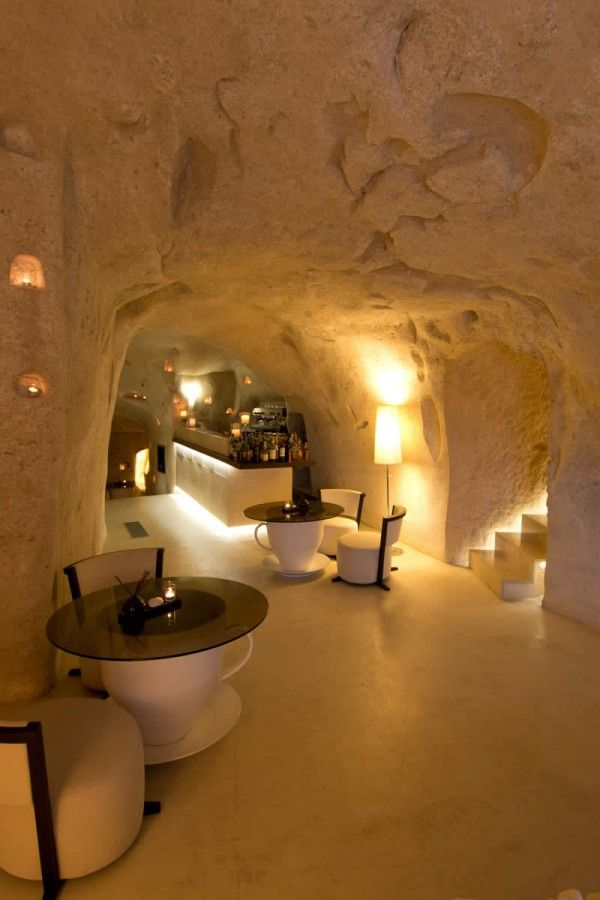 Ancient Cave Town Matera in Southern Italy #cavehouse