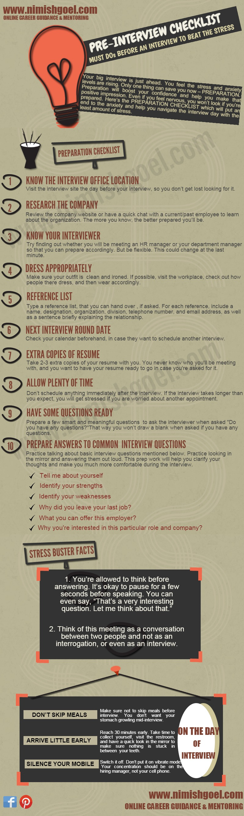 pre interview checklist must dos before an interview to beat the pre interview checklist must dos before an interview to beat the stress your big