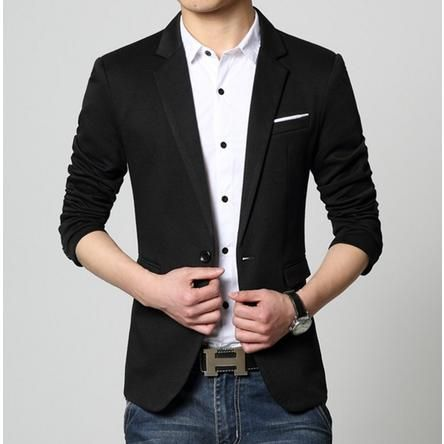 Men's Slim Fit Casual Sports Jacket | Group Repins - Amtify ...