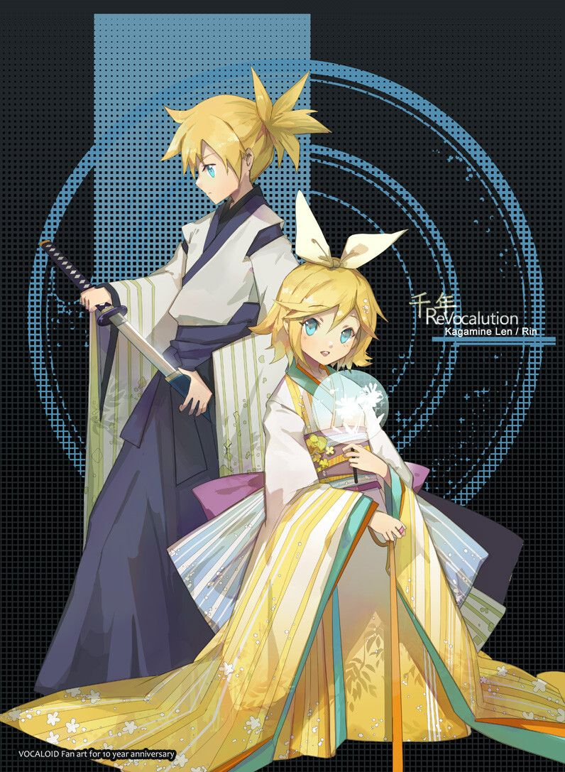 Pin by Nattō on Anime 1 Vocaloid, Vocaloid characters