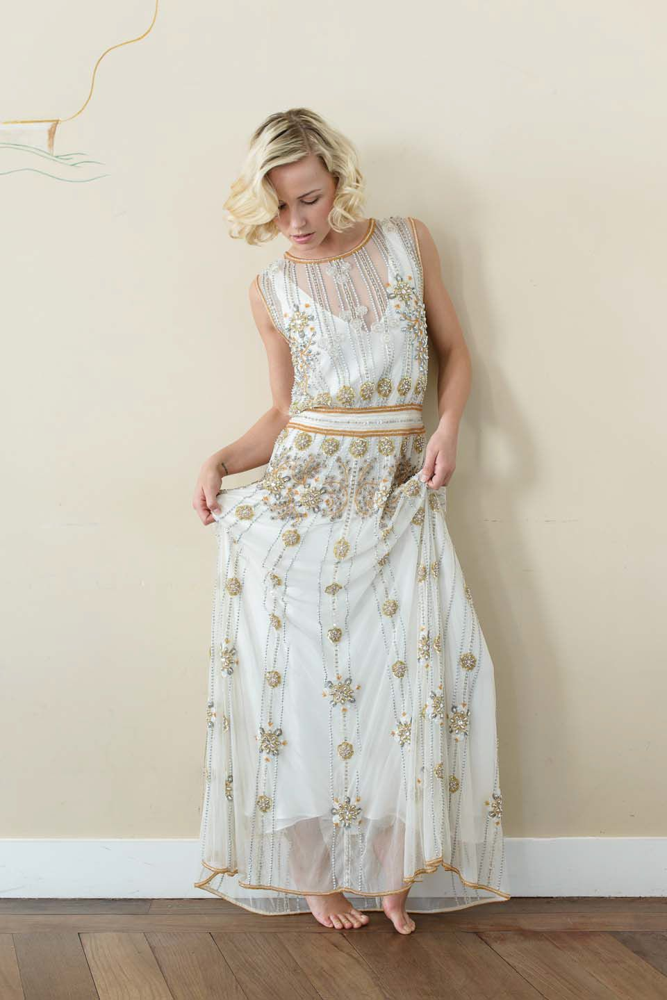 Vicky rowe a debut collection of 1920s and 1930s inspired bridal gowns ombrellifo Image collections