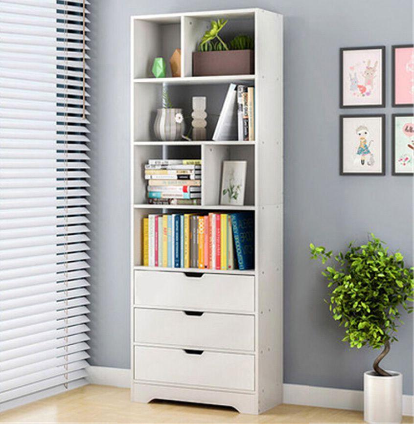 Beta 1 8m Tall Display Shelf Cabinet Bookshelf Organizer Solid Wood Bookshelf Bedroom Storage Cabinets Wood Bookshelves