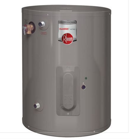 Rheem Professional Classic Series 6 Gallon Point Of Use Water Heater Sku Proe6 1 Rh Pou With Images Electric Water Heater Water Heater Heater