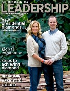 Magazines from doTERRA