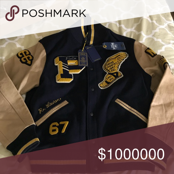 Polo Letterman Jacket | Varsity letterman jackets, Polos and Ralph ...