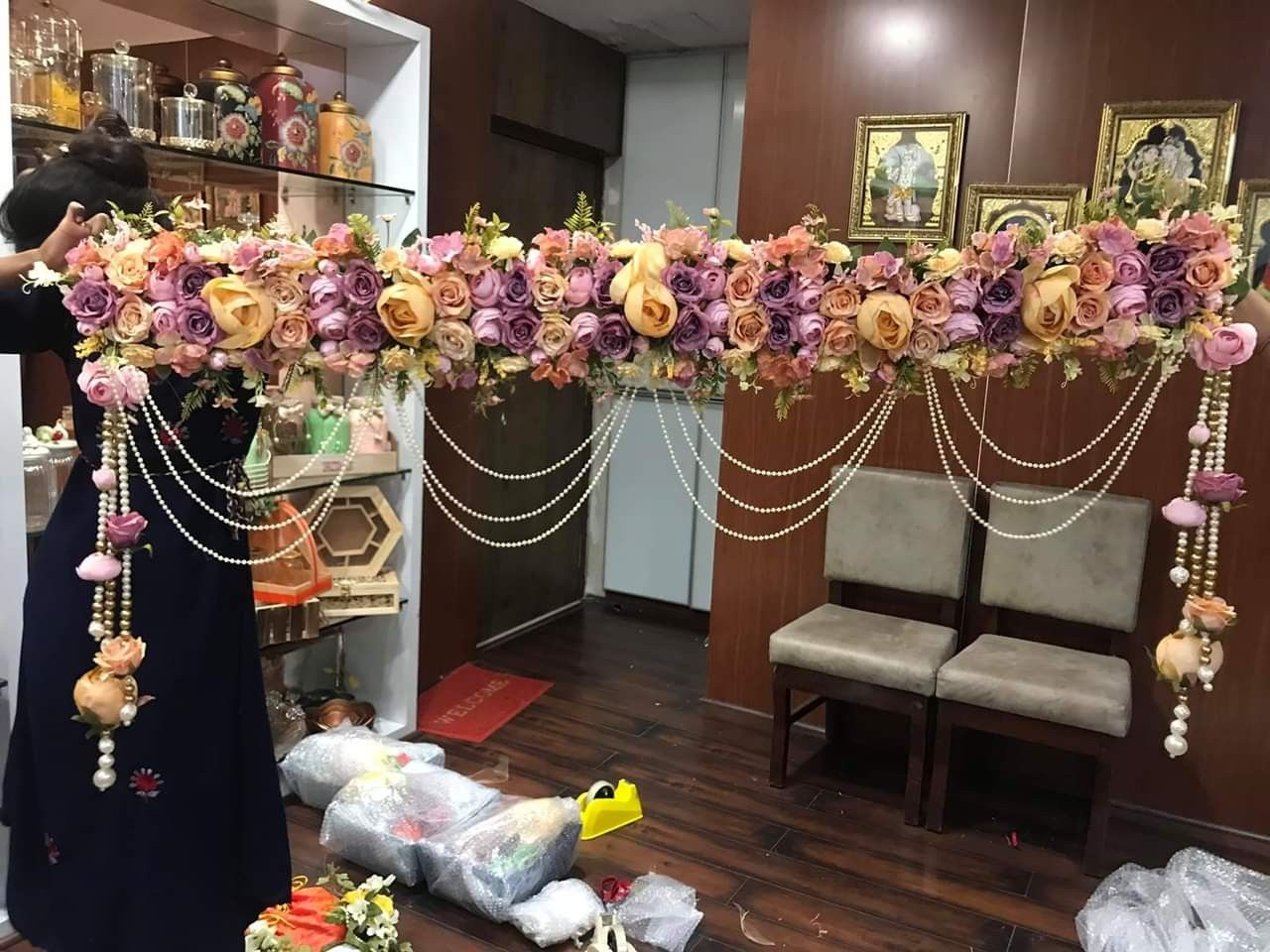 Pin by Divya Agrawal on torans | Diwali decoration items ...