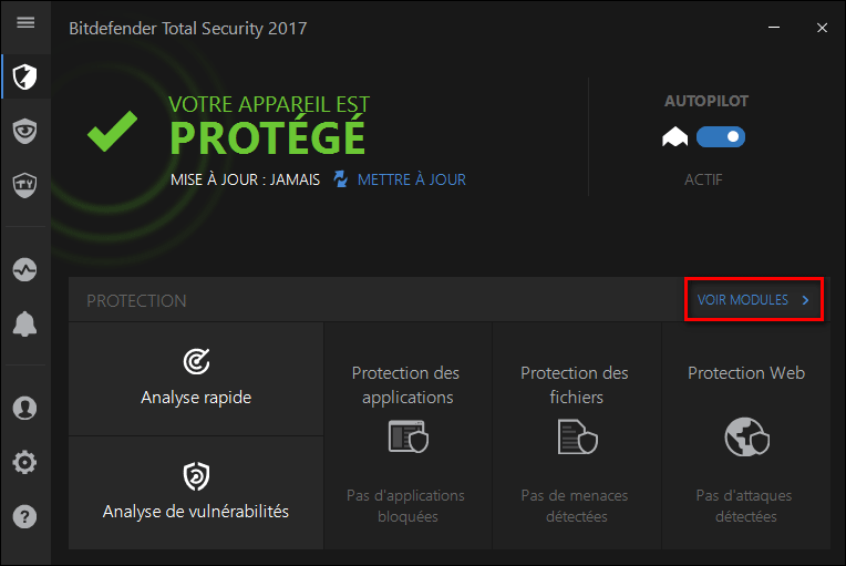 Tutoriel Bitdefender Total Security Multi-Device 2017