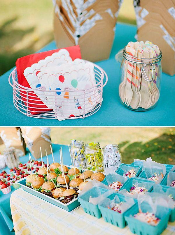 Backyard Baby Shower Decoration Ideas