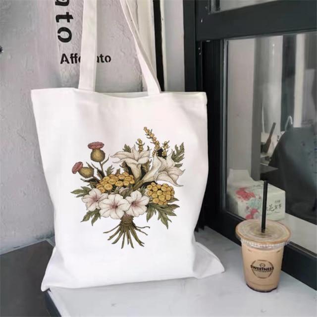 Cottagecore Bouquet Eco Tote