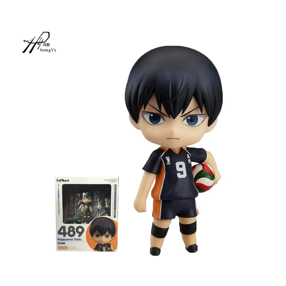 Click To Buy Nendoroid 489 Kageyama Tobio No 9 Haikyuu Volleyball Figures Pvc Action Figure Collection Model Toy 10cm 4 Affiliate