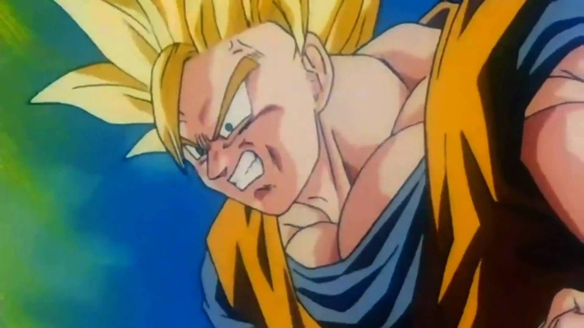 Biggest Screamfest In The Buu Saga Goku Ascends To Super Saiyan 3 Please Do Take Notice That Goku S Power Just To Get To This Goku Dragon Ball Dragon Ball Z