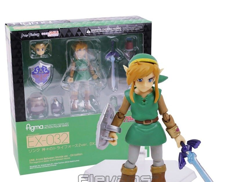 DX Edition Zelda Figma Action Figure Series EX-032 LINK Between World ver