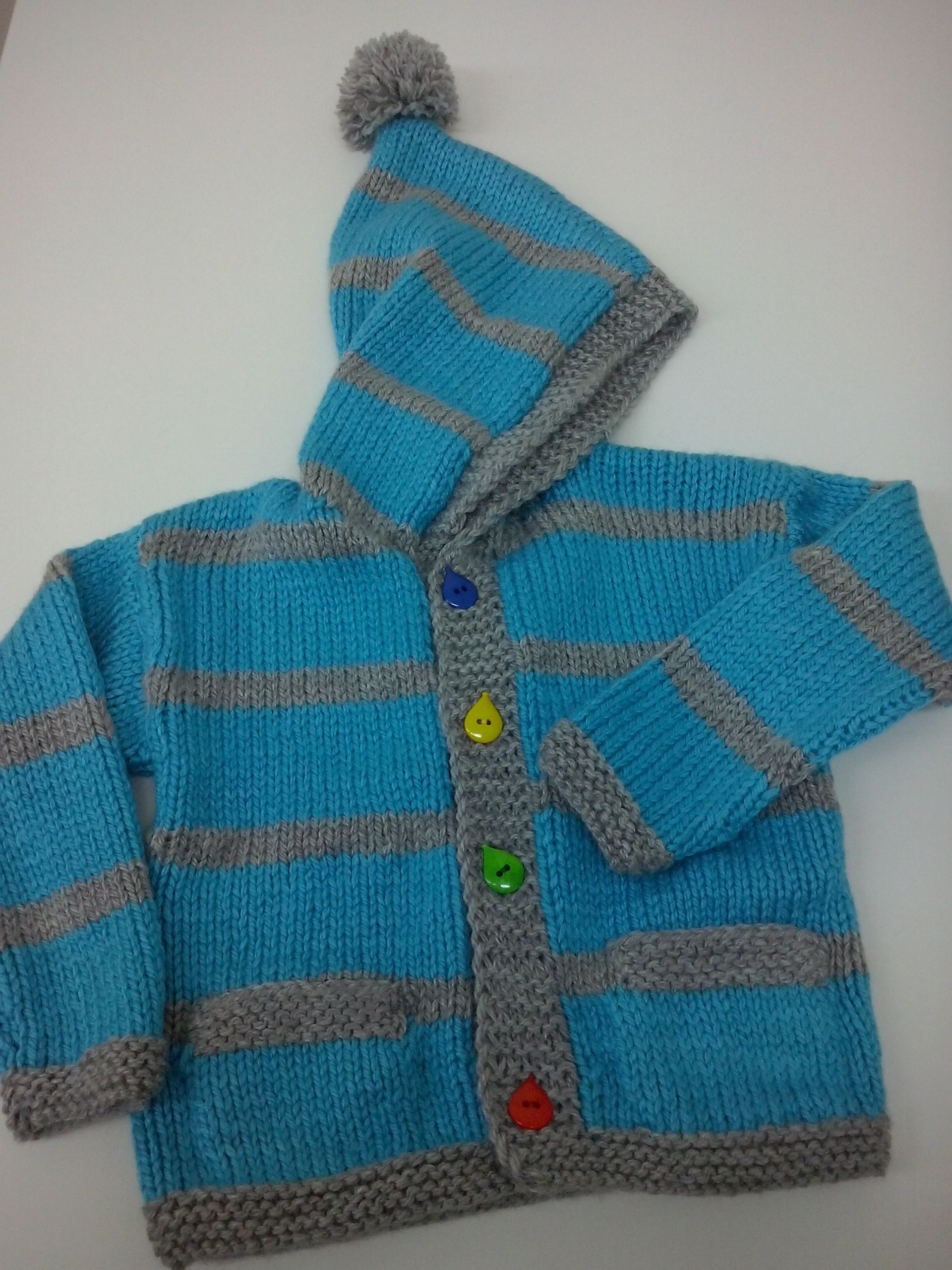 3459615416d Ζακέτα παιδική δίχρωμη,με κουκούλα και τσέπες για τον μικρό Λουκά ...