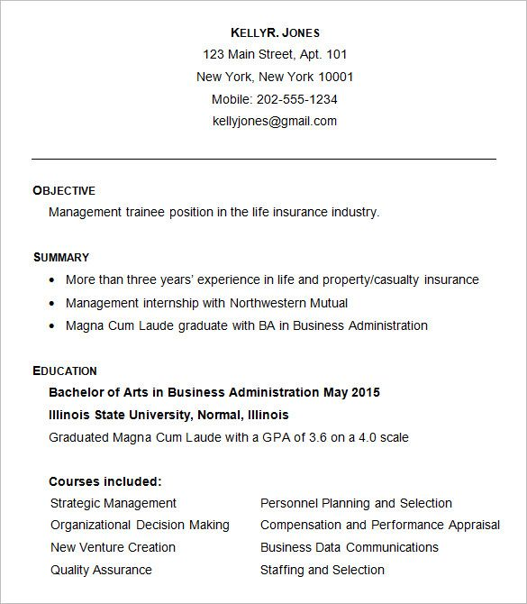 Business Pinterest Business resume, Business resume template and - resume quality assurance