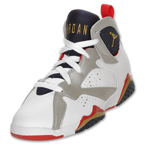 c4d52925a4683c Boys  Preschool Air Jordan Retro 7 Basketball Shoes - 304773 135 ...