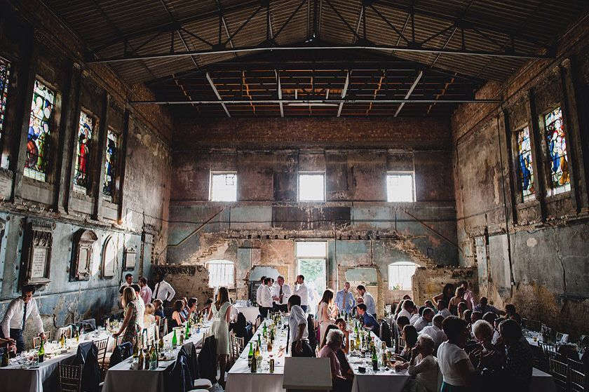 Caroline Gardens Chapel Peckham London A Crumbling Old Might Not Be Your First Choice For Wedding Venue But Trust Us When You See