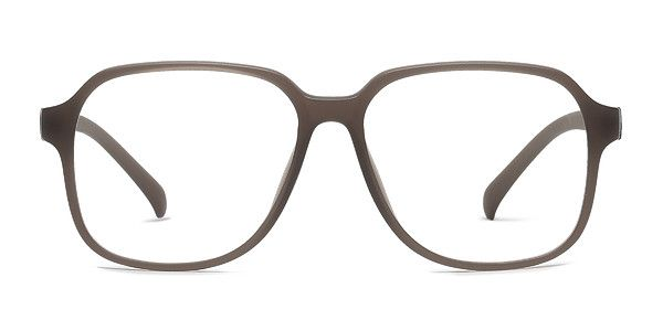 8b01a1a1b3 Old fashioned gets a make over with matte brown eyeglasses. This ...