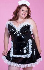 Chubby sexy maid
