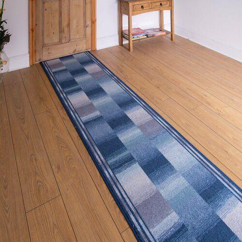 Rosalind Wheeler Innen-/Außenteppich Almeida in Blau | Wayfair.de #hallway