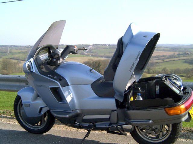 moto honda 800 pc