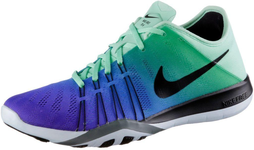 Nike  Free  TR  6  Fitnessschuhe  Damen  mint lila   Sneaker Damen ... 4282f422e8