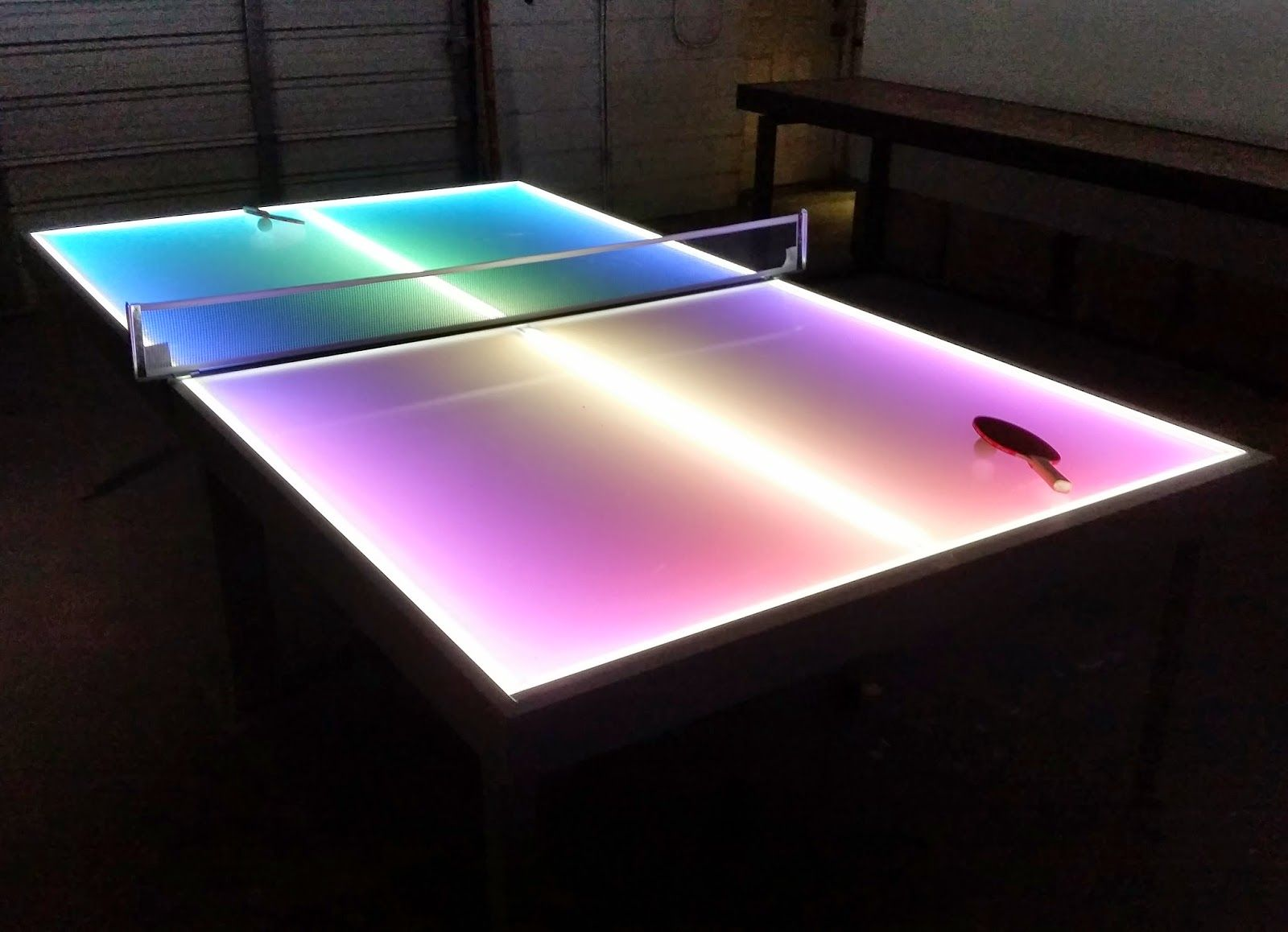 glowing pink box tables Google Search AWESOME