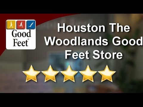 #goodfeetreviews [#City] Houston The Woodlands Good Feet Store 5 Star Re...
