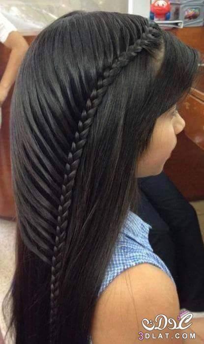 تسريحات ضفاير شعر طويل تسريحات شعر Braided Hairstyles Hair Styles Hot Hair Styles