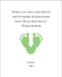 sayings about childrens footprints google search